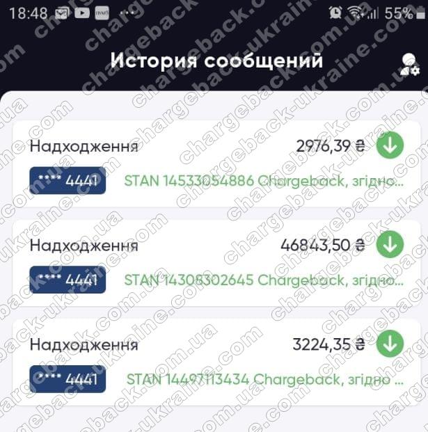 17.02.2021 возврат из amerom 53 044,24 грн