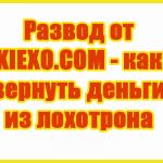Развод от KIEXO.COM - как вернуть деньги из лохотрона