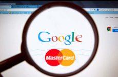 MasterCard сливает Google информацию о клиентах