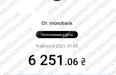 12.08.2021 возврат из Advance Stox 6251,06 грн