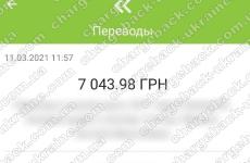11.03.2021 возврат из Amerom 7043,98 грн