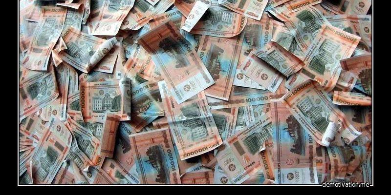 Киянин купив у вуличного міняйли «фантиків» на мільйон гривень