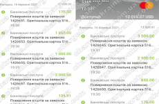 17.03.2021 возврат из LBLV 12009,91 USD